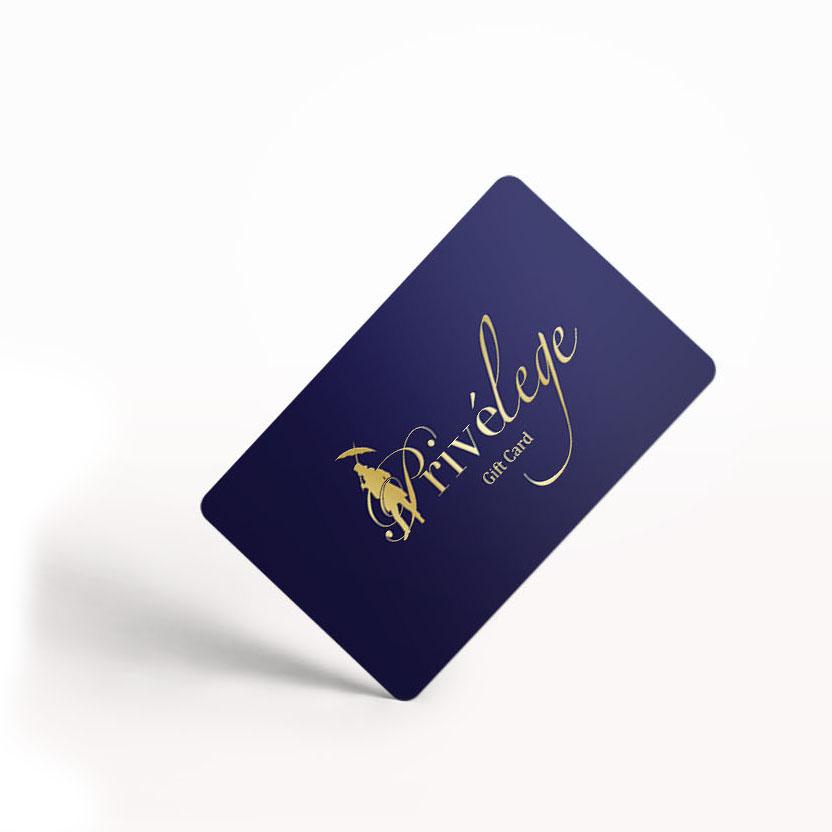 Privelege Gift Card