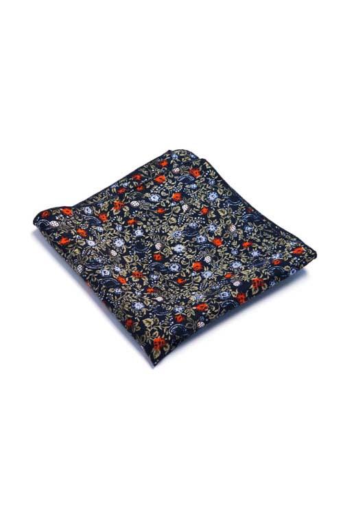Floral Pattern Pocket Square