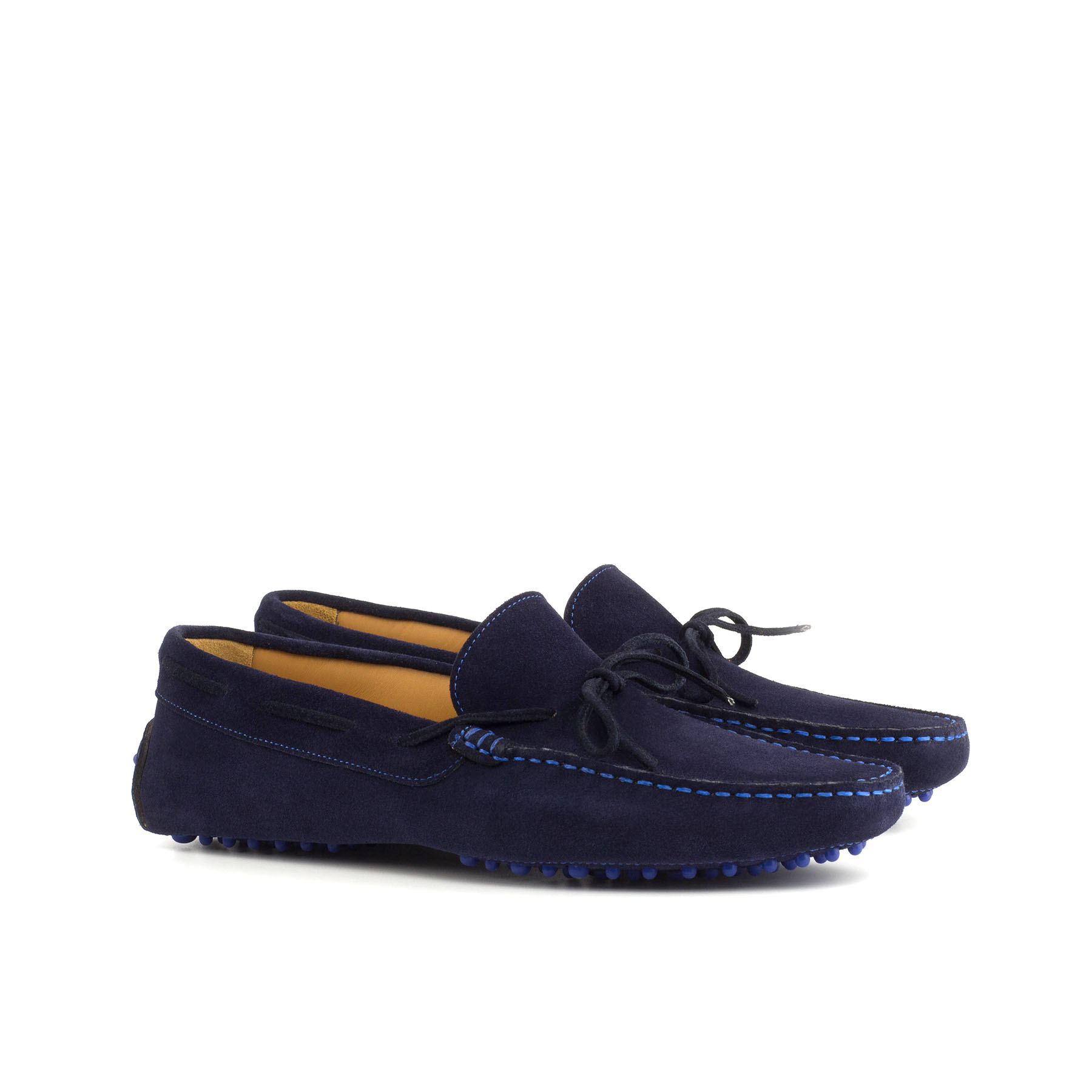 Blue Suede Driving Shoe